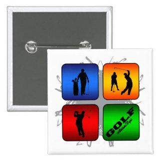 Amazing Golf Urban Style Button
