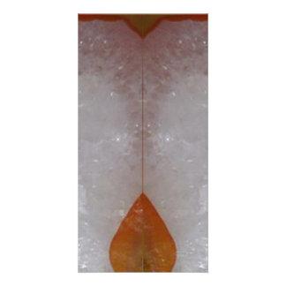 Amazing Grace: BORDER FRAME GEM PEARL crystals Card