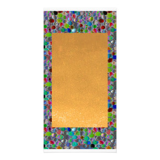 Amazing Grace: BORDER FRAME GEM PEARL JEWELS Card