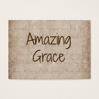 Amazing Grace Business Card