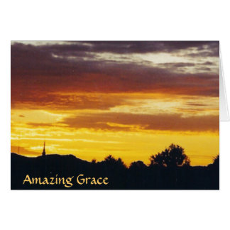Amazing Grace - card