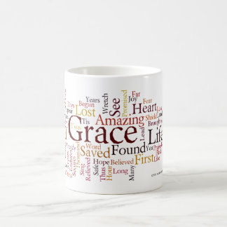 Amazing Grace cloud Classic White Coffee Mug