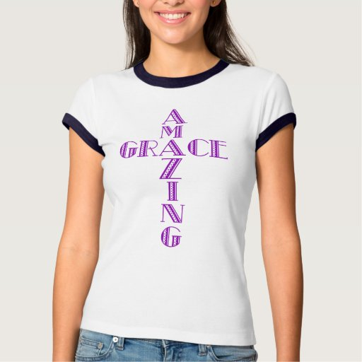 Amazing Grace Cross Tshirts