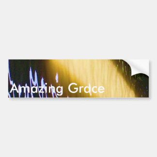 Amazing Grace: Enjoy and share the joy. Car Bumper Sticker