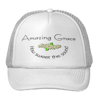 Amazing Grace how sweet the sound Christian Trucker Hat