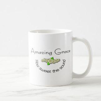 Amazing Grace how sweet the sound Christian Coffee Mugs