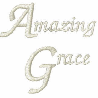 Amazing Grace Inspiration and Faith Embroidered Polo Shirt