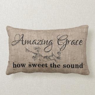 Amazing Grace Lumbar Pillow