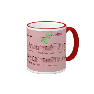 AMAZING GRACE-MUG RINGER COFFEE MUG