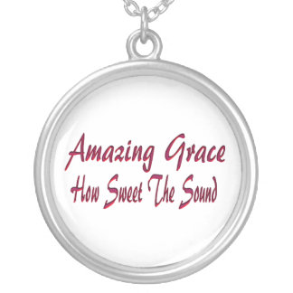 AMAZING GRACE-NECKLACE SILVER PLATED NECKLACE