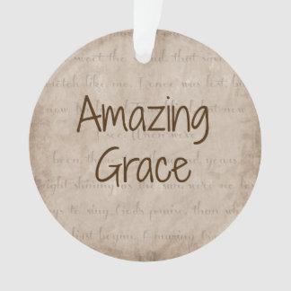 Amazing Grace Ornament