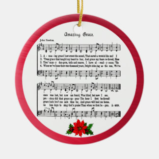 AMAZING GRACE-ORNAMENT CERAMIC ORNAMENT