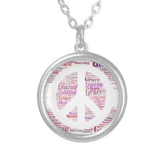 Amazing Grace Peace Necklace  GoTeamKate