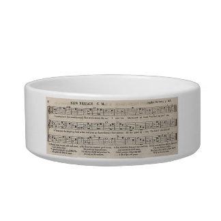 Amazing Grace pet bowl