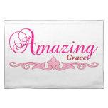 Amazing Grace Placemat Cloth Placemat