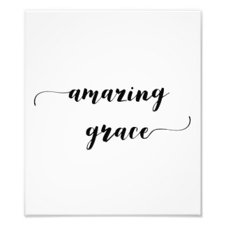 'Amazing Grace' Print