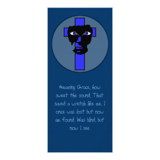Amazing Grace Rack Card Template