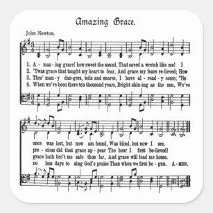 Amazing Grace Lyrics Gifts On Zazzle