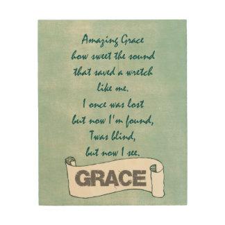 Amazing Grace Wall Decor amazing grace art & framed artwork | zazzle