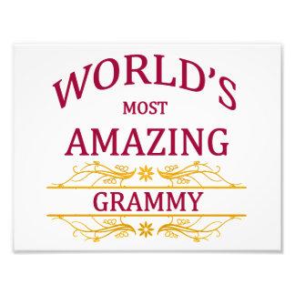 Amazing Grammy Photo Print