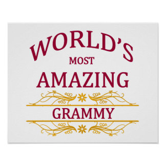 Amazing Grammy Poster