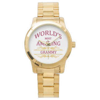 Amazing Grammy Wristwatch