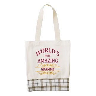 Amazing Grammy Zazzle HEART Tote Bag