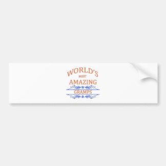 Amazing Gramps Bumper Sticker