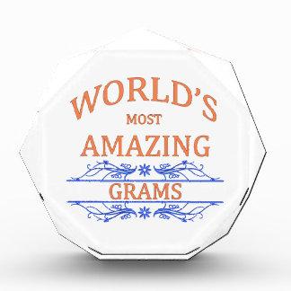 Amazing Grams Award