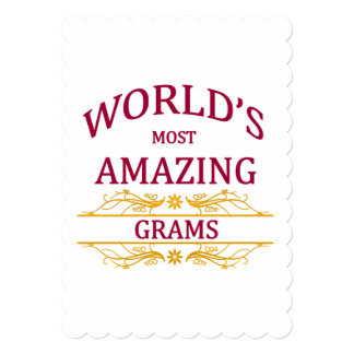 Amazing Grams Card