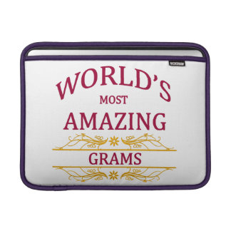 Amazing Grams MacBook Sleeve