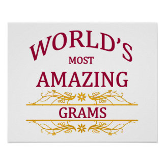 Amazing Grams Poster