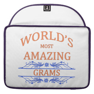 Amazing Grams Sleeve For MacBook Pro