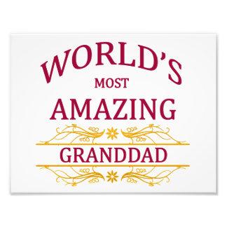 Amazing Granddad Photo Print