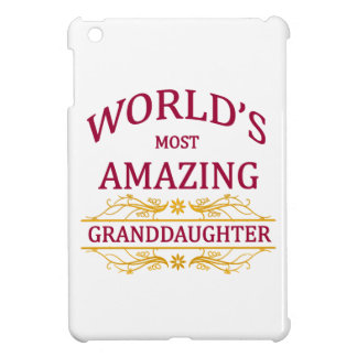 Amazing Granddaughter iPad Mini Cases