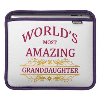 Amazing Granddaughter iPad Sleeve