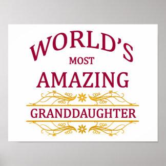 Amazing Granddaughter Poster