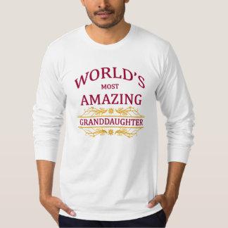 Amazing Granddaughter T Shirt