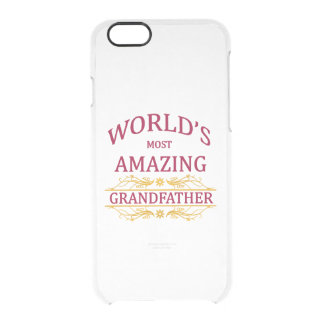 Amazing Grandfather Clear iPhone 6/6S Case