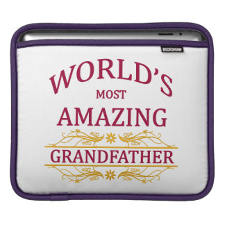 Amazing Grandfather iPad Sleeve