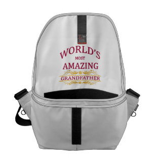 Amazing Grandfather Messenger Bags