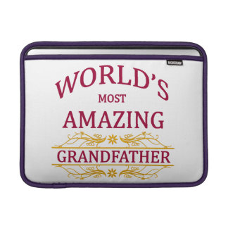 Amazing Grandfather Sleeve For MacBook Air
