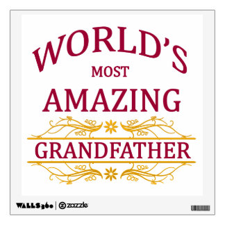 Amazing Grandfather Wall Decal