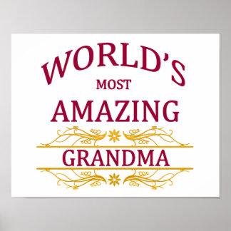 Amazing Grandma Poster