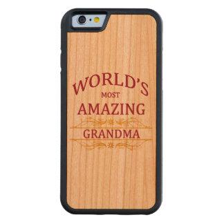 Amazing Grandma Carved® Cherry iPhone 6 Bumper Case