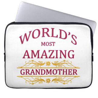 Amazing Grandmother Laptop Sleeve