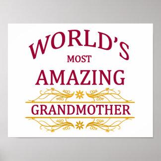 Amazing Grandmother Poster