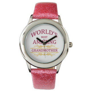 Amazing Grandmother Wrist Watches