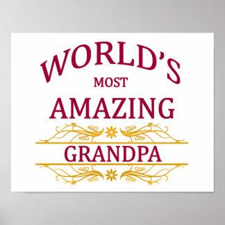 Amazing Grandpa Poster