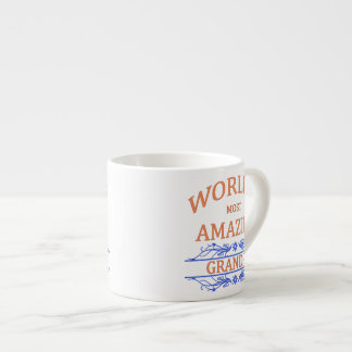 Amazing Grandpa 6 Oz Ceramic Espresso Cup
